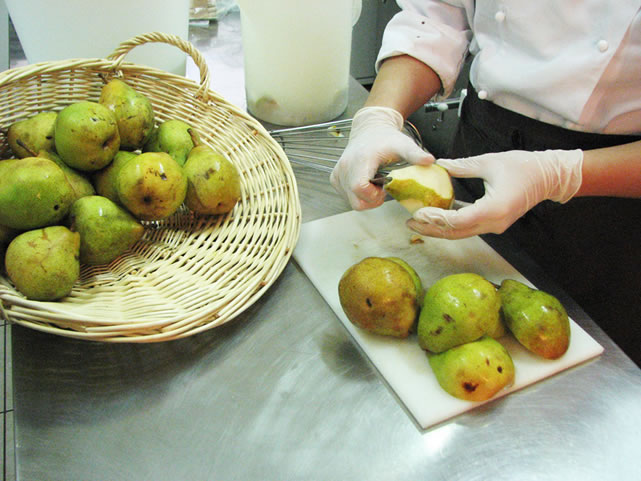 Prepariamo la frutta